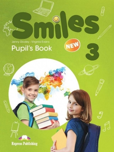 Smiles New 3 PB wer.wieloletnia EXPRESS PUBL. Jenny Dooley, Virginia Evans
