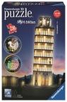Puzzle 3D, 216: Krzywa wieża w Pizie - NIGHT EDITION