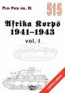 Afrika Korps 1941-1943 vol. 1 Plan Pack vol. IX 515 (Limited Edition) Jackowski Grzegorz