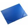 Teczka PP Titanum z gumką A4 - niebieska (195182)