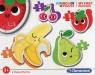Moje pierwsze puzzle Supercolor Fruits (20815)