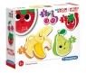 Moje pierwsze puzzle: Fruits 4w1 (20815) Wiek: 2+