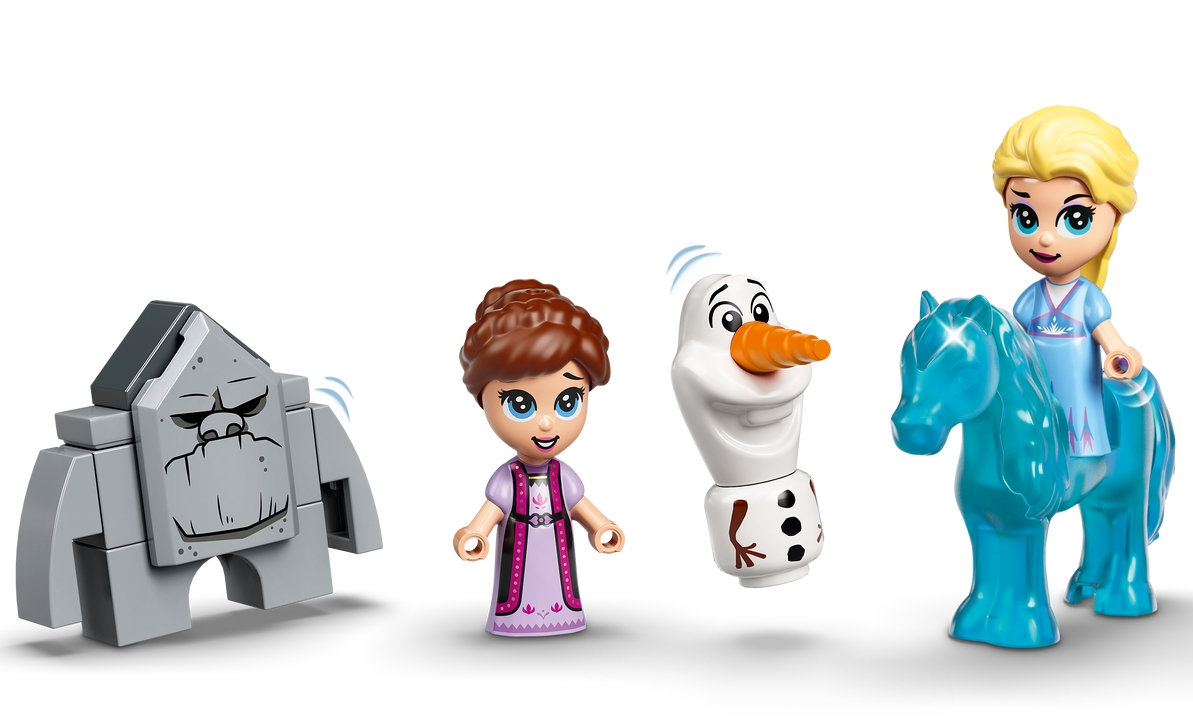 Lego Disney Princess: Książka z przygodami Elzy i Nokka (43189)