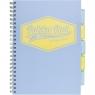 Kołozeszyt A4/100k Pukka Pad Project Book Pastel - niebieski (8630S(BE)-PST)