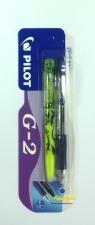 Długopis żelowy G2 niebieski + zakreślacz Frixion (PIBL-G2-5-L+SW-FL)