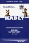Matematyka z wesołym Kangurem Kategoria Kadet