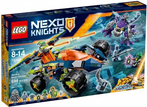 Nexo Knights Wspinacz Aarona (70355)