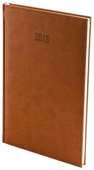 Kalendarz 2017 B5 Tygodniowy Vivella Brąz