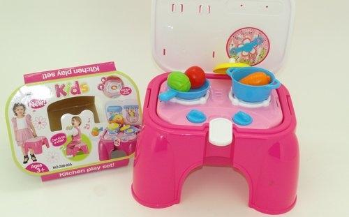 Kuchnia różowa z akcesoriami (ZR008-93A)