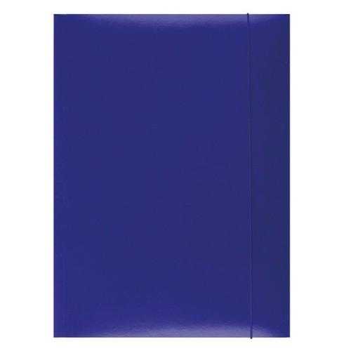 Teczka z gumka Office A4 niebieska (21191131-01)