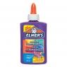 Elmer's kolorowy klej PVA, fioletowy, 147 ml, zmywalny - doskonały do Slime