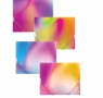 Teczka na gumkę A4 rainbow mix 80816