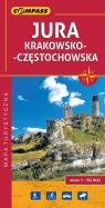 Jura Krakowsko-Częstochowska mapa