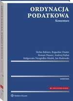 Ordynacja podatkowa. Komentarz Roman Hauser, Stefan Babiarz, Bogusław Dauter, Małgorzata Niezgódka-Medek, Andrzej Kabat, Jan Rudowski