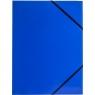 Teczka kartonowa na gumkę Tetis A4 - niebieska (BT600-N)
