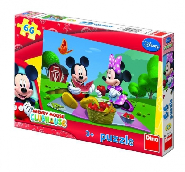 Puzzle Dino 66 Mickey Mouse (771161)