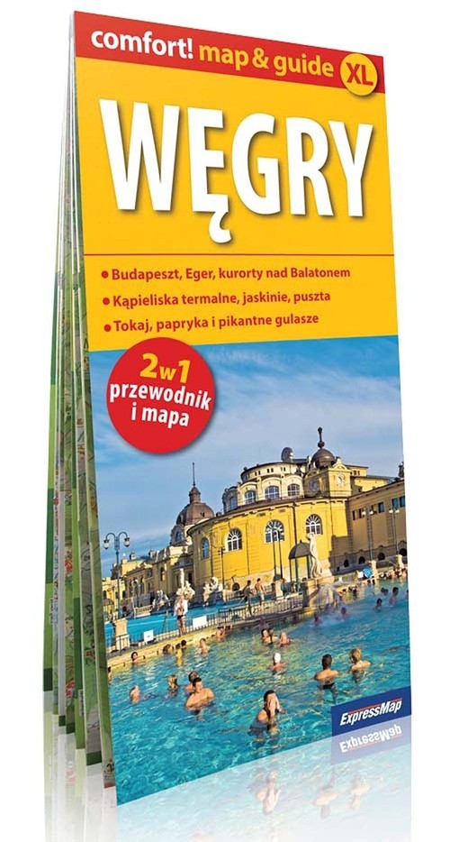 Węgry comfort! map&guide XL