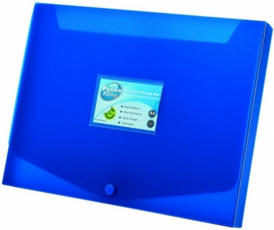 Pudełko A4 niebieskie