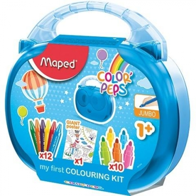 Walizeczka Colorpeps Jumbo MAPED