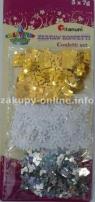 Zestaw konfetti 3x7g (dwa wzory)