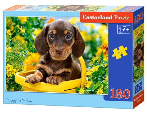 Puzzle Puppy in Yellow 180 elementów (018161)