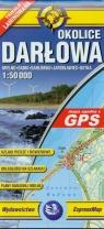 Okolice Darłowa Mapa turystyczna