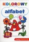 Kolorowy alfabet 32 naklejki