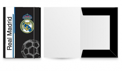 Teczka A4 z gumką Real Madrid