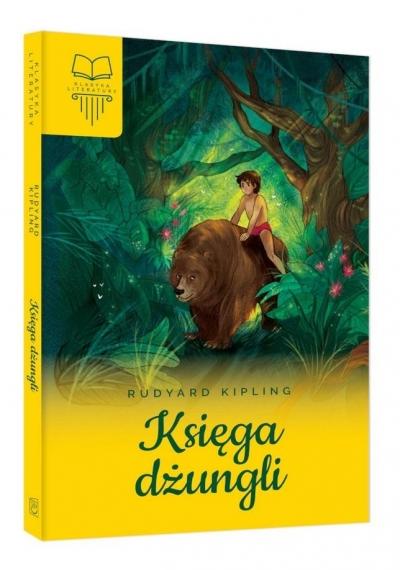 Księga dżungli bez opracowania (oprawa twarda) Kipling Rudyard