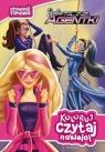 Koloruj, czytaj, naklejaj. Barbie tajne agentki (12162)