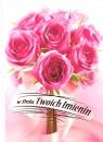 Karnet B6 Kwiaty imieniny  FF1283