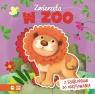 Książka z szablonem Zwierzęta w zoo Opracowanie zbiorowe