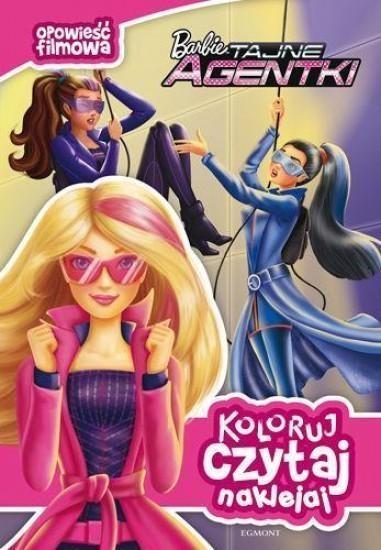 Koloruj, czytaj, naklejaj. Barbie tajne agentki (12162) opracowanie zbiorowe