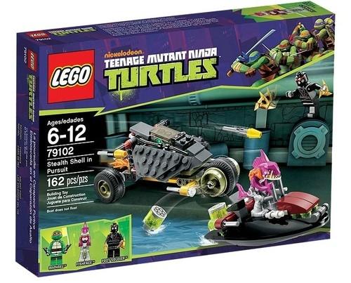 Lego Wojownicze Żółwie Ninja Pościg  (79102)