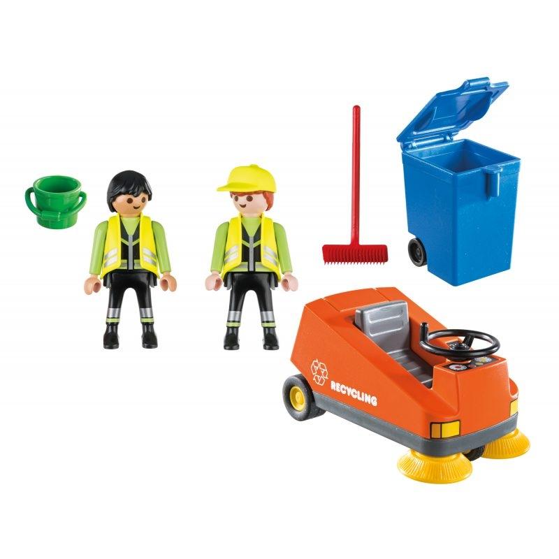 Playmobil City Life: Zamiatarka uliczna (70203)