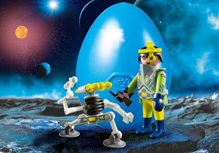 Space Agent z robotem (9416)