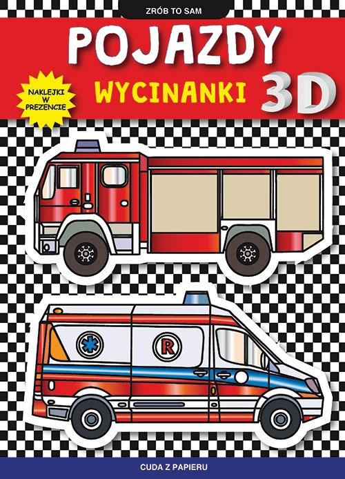Pojazdy Wycinanki 3D Tonder Krzysztof