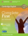 Complete First for Schools Student's Book without answers + CD