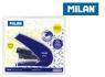 Zszywacz Milan 9 cm Energy Saving niebieski191071B