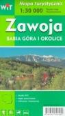 Mapa turystyczna -Zawoja, Babia Góra i okolice WIT praca zbiorowa