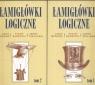 Łamigłówki Logiczne Tom 1-2 Pakiet Bogusz Lech, Zarzycki Piotr, Zieliński Jerzy