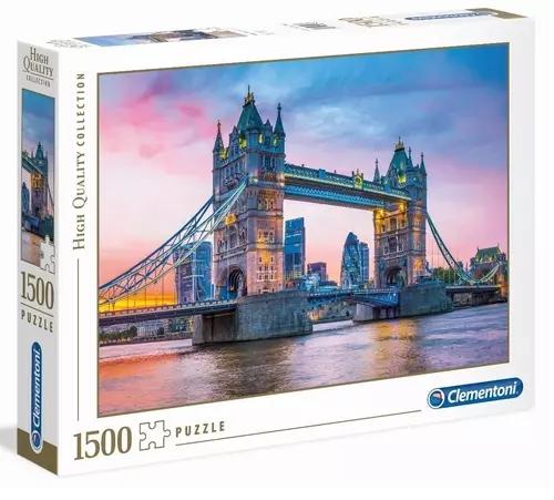 Puzzle HQC 1500: Tower Bridge Sunset (31816)