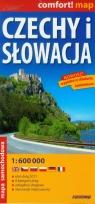 Czechy i Słowacja 1:600 000 Mapa samochodowa