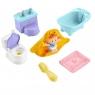 Little People: Zestaw kąpiel i toaleta bobasa z akcesoriami (GKP64/GKP66)