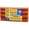 Plastelina Astra, 1 kg - czerwona (303111006)