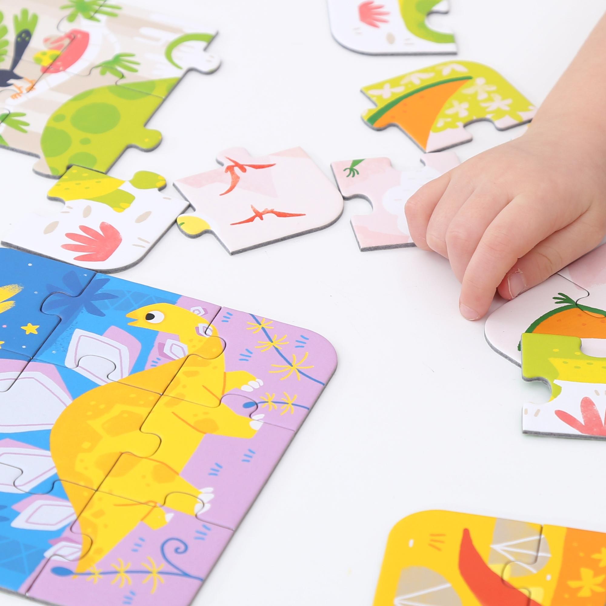 CzuCzu: Puzzle - Układam dinozaury