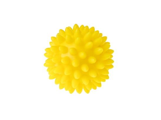 Tullo, Piłka rehabilitacyjna 5,4 cm, żółta (416)