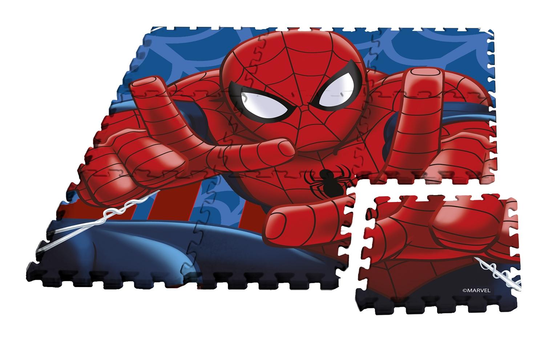 Mata piankowa, puzzle Spiderman - 9 elementów (MV92392)