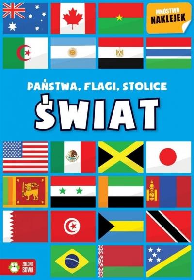Państwa, flagi, stolice. Świat praca zbiorowa