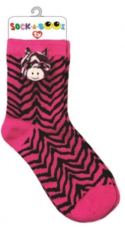 TY Fashion skarpetki Zoey - Zebra